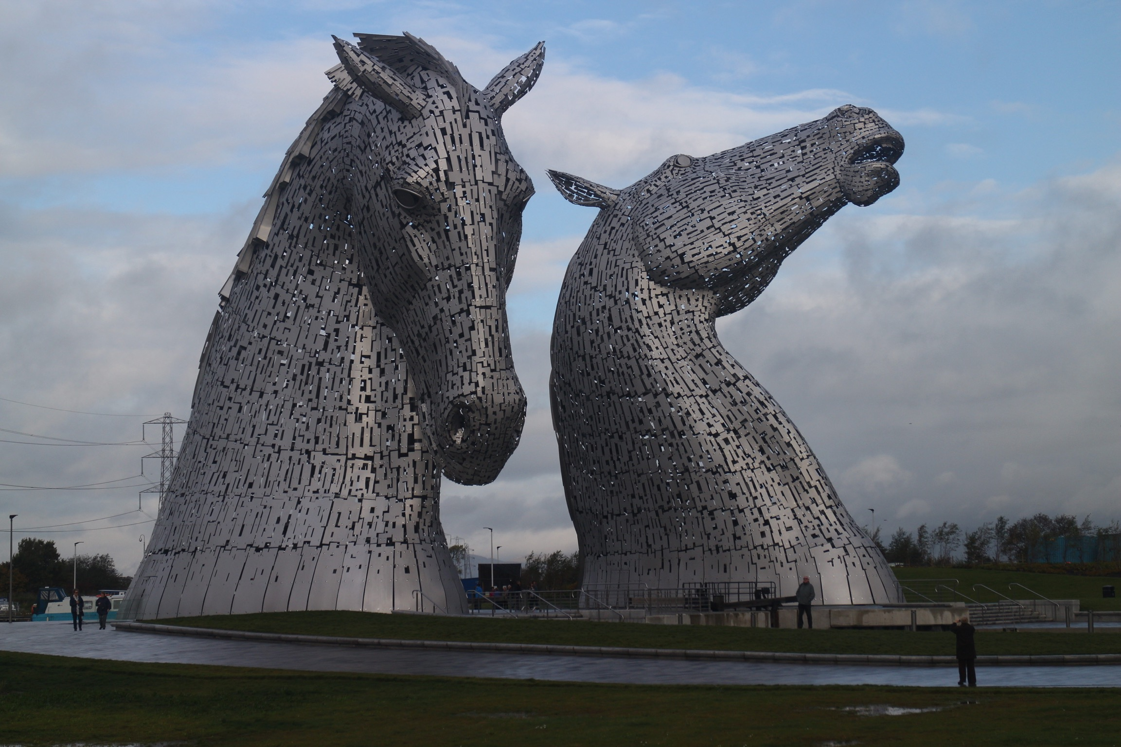 The Kelpies image 2014